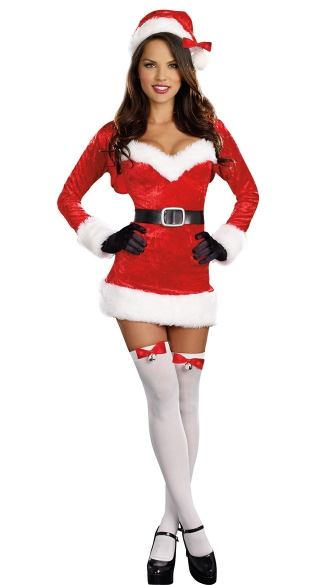 Santa Baby Outfit - Multi