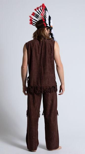 Chief Long Arrow Costume - Multi