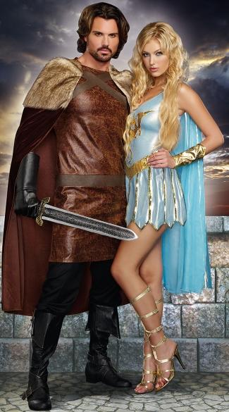 dragon warriors couples costume men s dragon knight king costume
