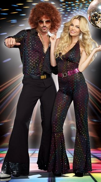 Studio 69 Disco Couples Costume  sc 1 st  Yandy & Studio 69 Disco Couples Costume Menu0027s Disco Stud Costume 70s ...