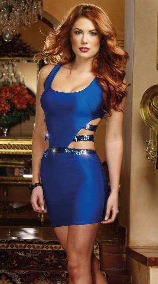 Saphhire Cut Out Bodycon Dress Cute Summer Clothes Sexy