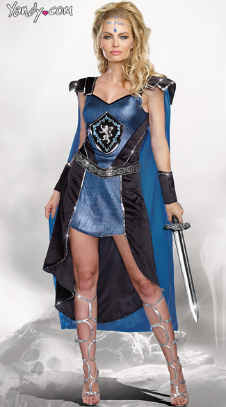 Sexy King Slayer Costume, Sexy Medieval Costume, Sexy Knight Costume