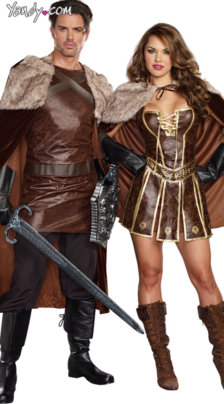 Victorious Couple Costume  sc 1 st  Yandy & Menu0027s Dragon Knight King Costume Medieval Knight Costume Medieval ...