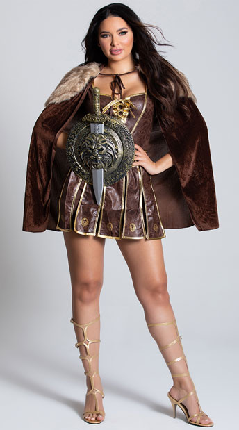 Victorious Warrior Costume - As Shown