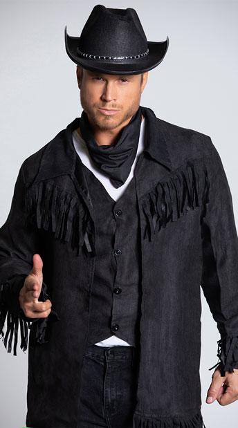 Men's Buck Wild Cowboy Costume - As Shown