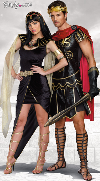 Julius Caesar Costume Black Faux Leather Julius Caesar Costume Black Roman Solider Costume Cleo Costume Egyptian Queen Costume Black and Gold Cleo ...  sc 1 st  Yandy & Julius Caesar Costume Black Faux Leather Julius Caesar Costume ...