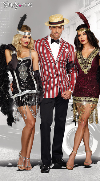 Sophisticated Lady Flapper Costume - as shown