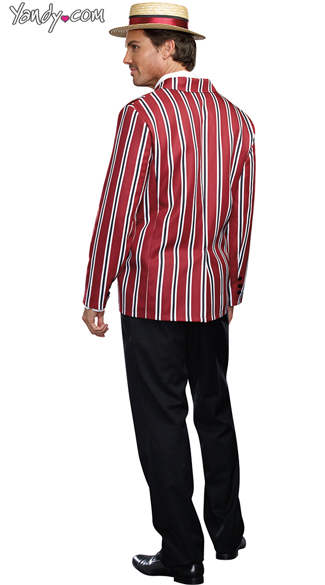 Men's Good Times Charlie Costume - As Shown