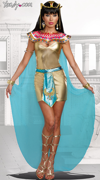 Queen Cleopatra Costume - As Shown