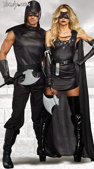 Assassin Couple Costume - as shown