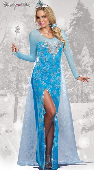 Ice Queen Costume Sexy Fairytale Costume Sexy Queen Costume