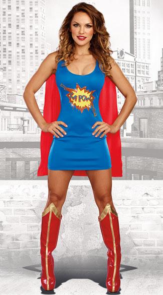 Ka Pow Costume, Sexy Superhero Costume - Yandycom-6230