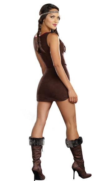 Plus Size Native Beauty Costume - Multi