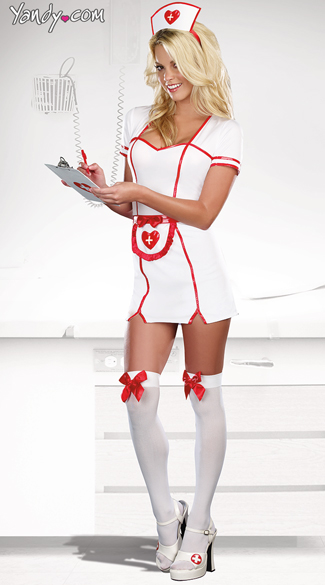 Really Naughty Costume, Naughty RN Costume, Cheap Nurse Costume