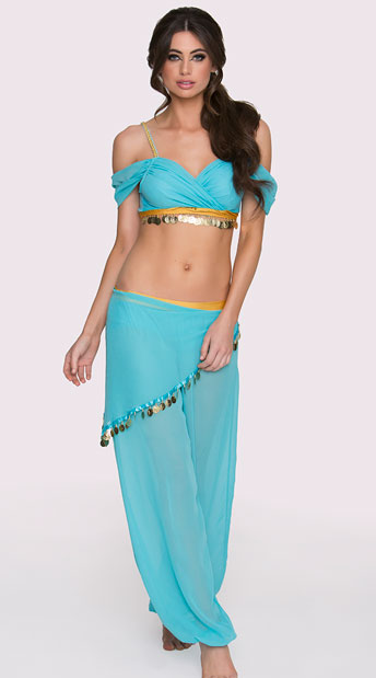 Belly Dancer Halloween Costumes