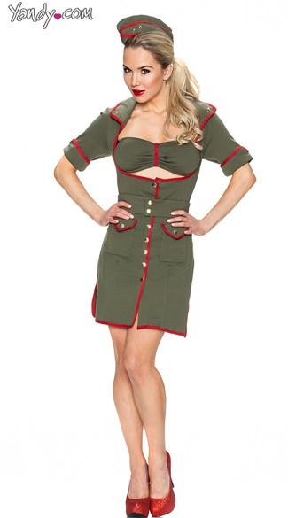 Combat Cutie Costume Army Girl Costume Sexy Army Costume Sexy Army Pin Up Costume  sc 1 st  Yandy & Combat Cutie Costume Army Girl Costume Sexy Army Costume Sexy ...