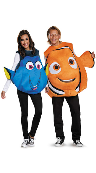 Finding nemo couples costume dory pullover costume blue fish finding nemo couples costume solutioingenieria Gallery