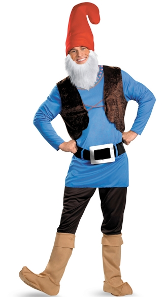 Men\'s Papa Gnome Costume, Mens Gnome Costume
