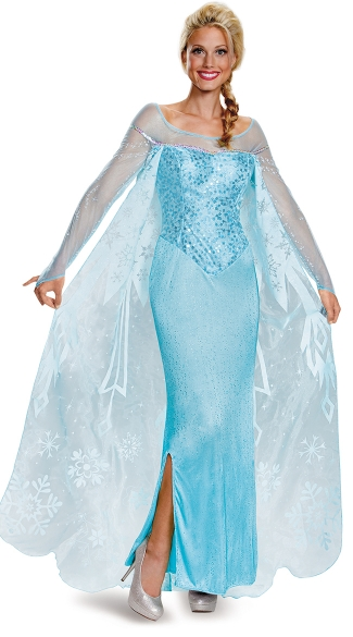 Frozen's Queen Elsa Costume - Blue