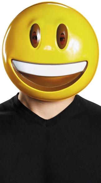 Smile Emoji Mask - As Shown