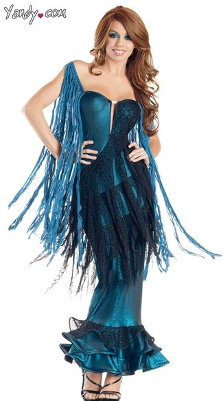Sea Goddess Mermaid Costume Mermaid Halloween Costume Mermaid Adult Costume  sc 1 st  Yandy & Sea Goddess Mermaid Costume Mermaid Halloween Costume Mermaid ...