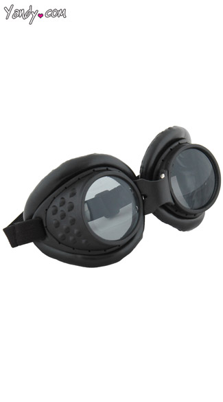 Black Radioactive Goggles - Black