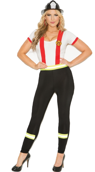my fire hero costume, sexy firefighter costume for women, sexy