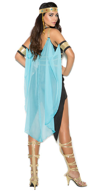 Sexy Queen Of The Nile Costume - As Shown
