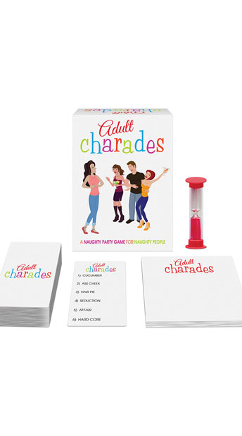 Adult Charades Party Game - As Shown