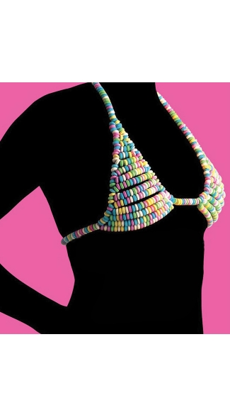 Candy Bra, Candy Necklace Bra, Edible Bra