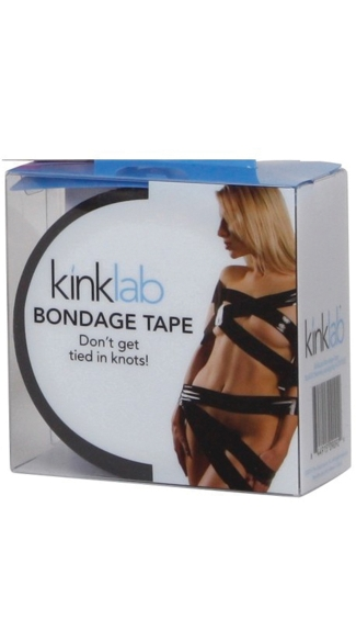 Black Bondage Tape - as shown