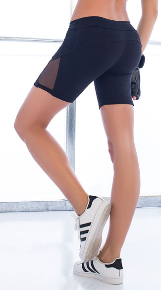 Basic Gym Shorts - Black
