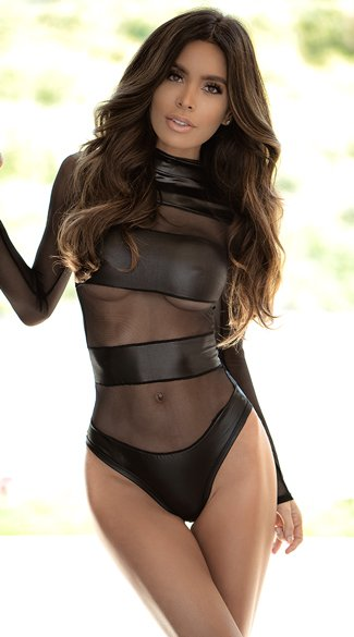 Make It Or Break It Bodysuit, long sleeve bodysuit - Yandy.com