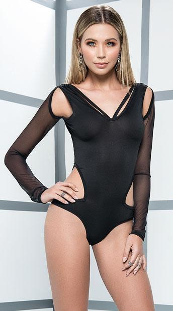 Taking Shape Bodysuit - Black