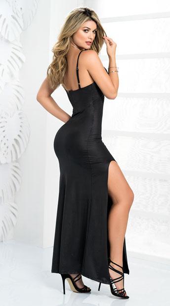 Enchanting Black Gown - Black