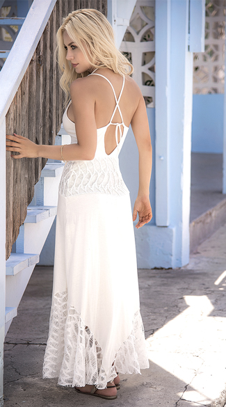 Radiant Ivory Maxi Dress - Ivory