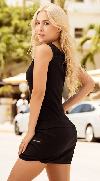 Back In Black Dress - Black