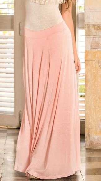 Breezy Floor Length Maxi Skirt Long Summer Skirts Flowy