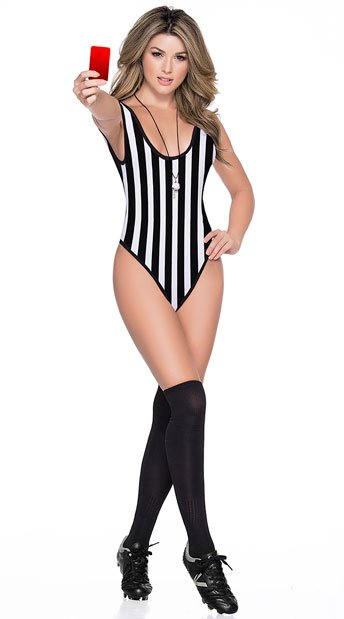 Futbol Referee Bodysuit - As Shown