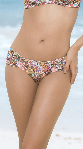 Ruched Hipster Bikini Bottoms - Spring