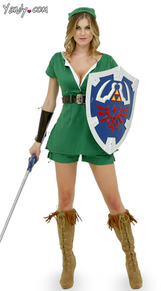 Green Adventurer Costume Warrior Costume for Women Elf Outfits for Women  sc 1 st  Yandy & Green Adventurer Costume Warrior Costume for Women Elf Outfits for ...