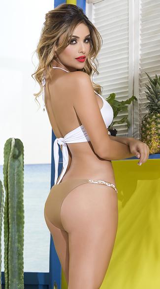 Yandy Roman Goddess Braided Bikini - as shown