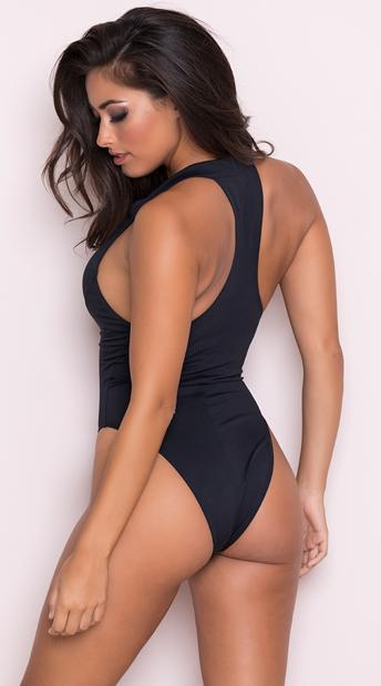 2bb4d0c07323c ... Yandy Beach Babe One Piece Swimsuit - Black