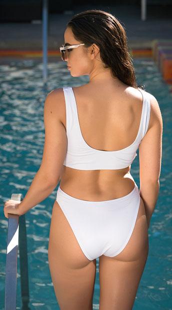 Yandy Coastal Beauty One Piece Swimsuit - Black