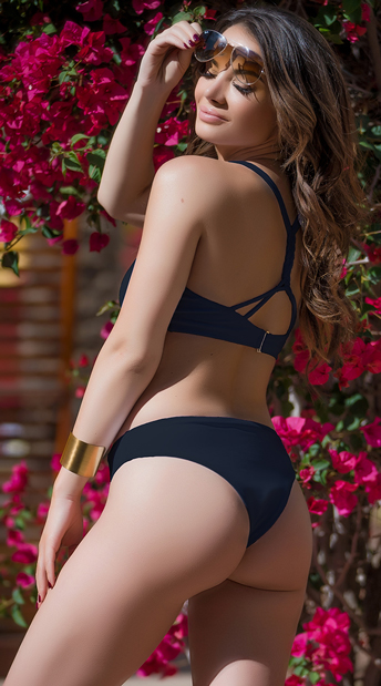 Yandy Luxury Plunge Bikini - as shown