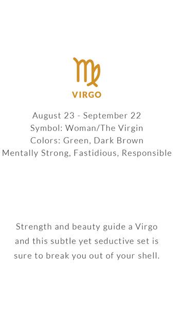Yandy Zodiac Virgo Bra Set - Virgo