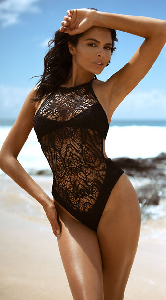 63b0872e51d Yandy Bayberry Beauty Monokini, Macrame Swimsuit - Yandy.com
