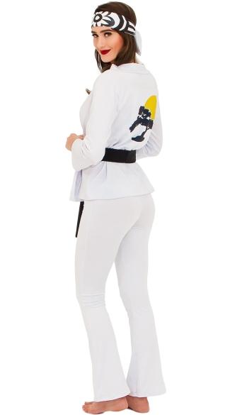 Yandy's The Karate Girl Costume - White