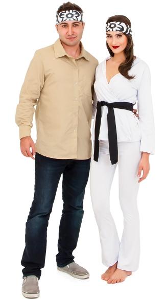 White Ninja And Karate Master Couples Costume  sc 1 st  Yandy & White Ninja And Karate Master Couples Costume Couples Karate ...