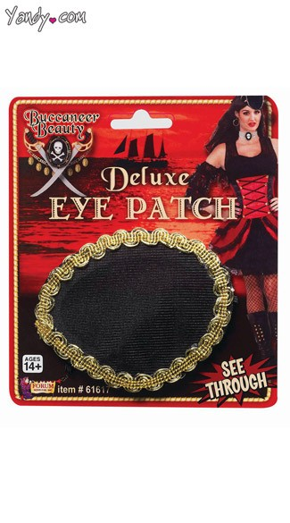 Buccaneer Beauty Pirate Eyepatch - as shown